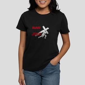 By The Blood Women's Dark T-Shirt