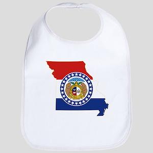 Missouri Flag Bib