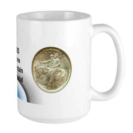 Stone Mountain Coin Large Mug
