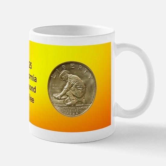 California Diamond Jubilee Coin Mug