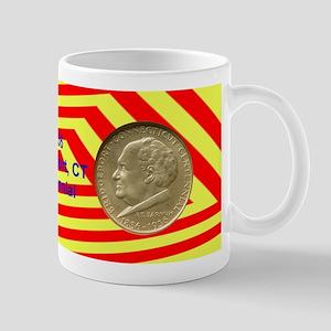 Bridgeport CT Centennial Coin Mug