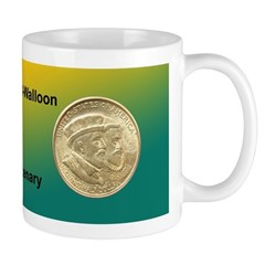 Huguenot-Walloon Coin Mug