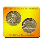 California Diamond Jubilee Coin Mousepad