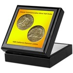 California Diamond Jubilee Coin Keepsake Box