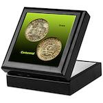 Iowa Centennial Coin Keepsake Box