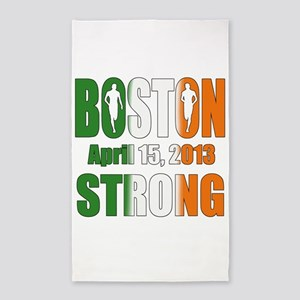 Boston Irish Strong 4 15 2013 3'x5' Area Rug