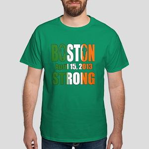 Boston Irish Strong 4 15 2013 Dark T-Shirt