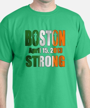 Boston Irish Strong 4 15 2013 T-Shirt