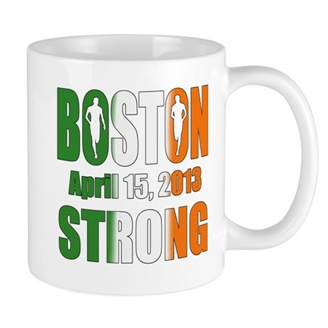 Boston Irish Strong 4 15 2013 Mug