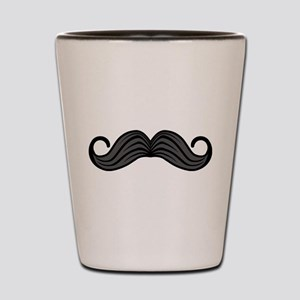 Retro Moustache Shot Glass