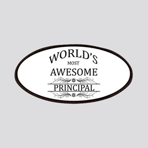 World's Most Awesome Principal Patches