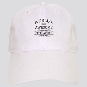 World's Most Awesome PE Teacher Cap
