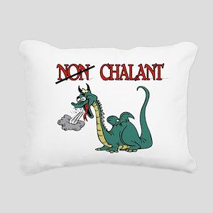CHALANT DRAGON Rectangular Canvas Pillow