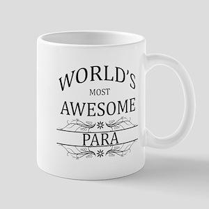 World's Most Awesome Para Mug