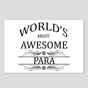 World's Most Awesome Para Postcards (Package of 8)