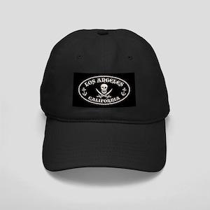 Los Angeles Pirate Black Cap