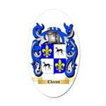 Chacon Oval Car Magnet