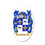 Chacon 35x21 Oval Wall Decal