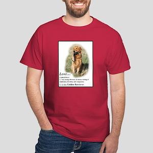 Golden Retriever Red Dark T-Shirt