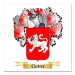 Chabres Square Car Magnet 3