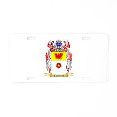 Chabanon Aluminum License Plate