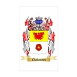 Chabannes Sticker (Rectangle 50 pk)