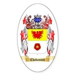 Chabannes Sticker (Oval)