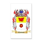 Chabanet Rectangle Car Magnet