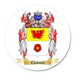 Chabanet Round Car Magnet