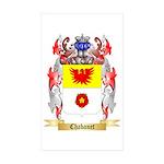 Chabanet Sticker (Rectangle 50 pk)