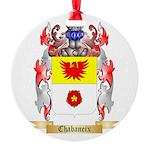 Chabaneix Round Ornament