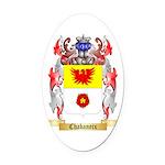 Chabaneix Oval Car Magnet