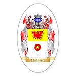 Chabaneix Sticker (Oval 50 pk)