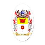Chabane Oval Car Magnet