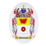 Chabanat Ornament (Oval)