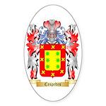 Cespedes Sticker (Oval 10 pk)