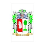 Cescot Sticker (Rectangle 50 pk)
