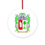 Cescon Ornament (Round)
