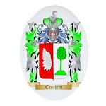 Ceschini Ornament (Oval)