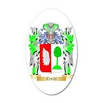 Ceschi 20x12 Oval Wall Decal