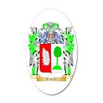 Ceschi 35x21 Oval Wall Decal