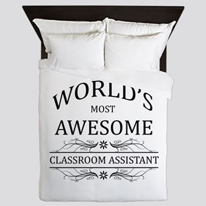 World's Most Awesome Classroom Assistant Queen Duv