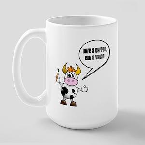 Eat a Vegan Large Mug