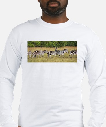 Dazzle of Zebras Long Sleeve T-Shirt