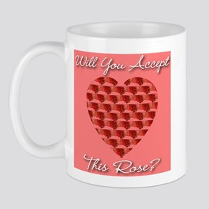 Will You Accept This Rose? Mug