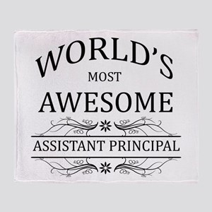 World's Most Awesome Assistant Principal Throw Bla