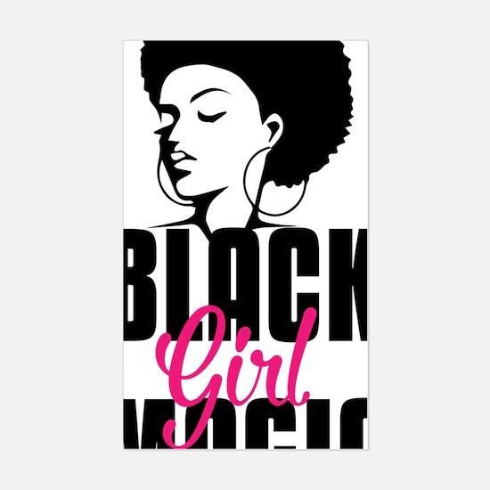 Unique Black power pride Sticker (Rectangle)