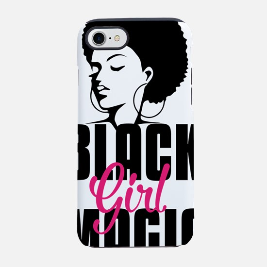 Black Girl Magic iPhone 7 Tough Case