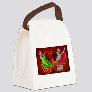 Sneakers Canvas Lunch Bag