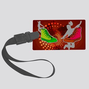 Sneakers Luggage Tag